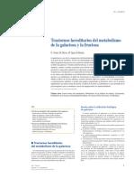 Trastornos Hereditarios Del Metabolismo de La Galactosa y Fructosa 2012