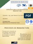 Introd.alos Proc. de Manuf. 2