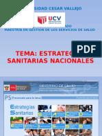 Ponencia Maestria , Estrategias Sanitarias Universidad Cesar Vallejo