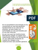 RIESGOS QUE IMPLICA LA INCORPORACIÓN DE INTERNET EN.pptx
