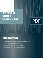 corte geoLÓGICO