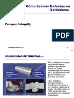 Como Evaluar Defectos en Soldadura,Tuberias Longitudinal y Circunferencial.