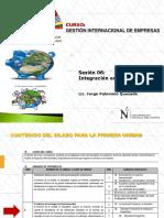 SESION 6 - Integración Económica