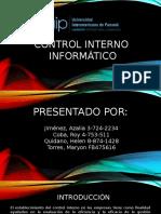 Control Interno Informático
