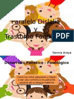 Dislalia y T. Fonológico