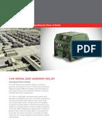 DRS Technologies 3KW Datasheet