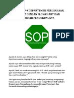 Standar Operasional Prosedur (sop) Perusahaan