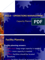 Session 2 - Capacity Planning