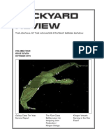Dockyard Review,The Journal of the Advanced Starship Desing Bureau,Volume 4, Issue 7-October 2373