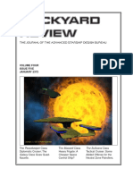 Dockyard Review,The Journal of the Advanced Starship Desing Bureau,Volume 4, Issue 5-January 2372