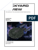Dockyard Review,The Journal of the Advanced Starship Desing Bureau,Volume 3, Issue 1-January 2326