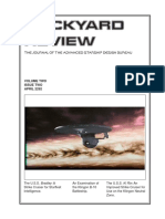 Dockyard Review,The Journal of the Advanced Starship Desing Bureau,Volume 2, Issue 2-April 2292