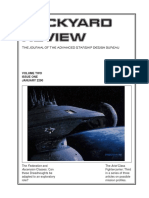 Dockyard Review,The Journal of the Advanced Starship Desing Bureau,Volume 2, Issue 1-January 2290