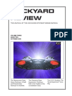 Dockyard Review,The Journal of the Advanced Starship Desing Bureau,Volume 3, Issue 2-October 2345