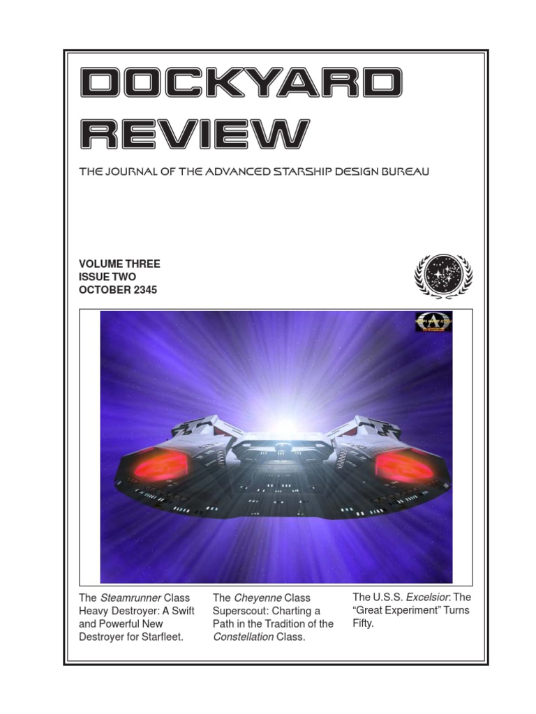 Dockyard Review,The Journal of the Advanced Starship Desing