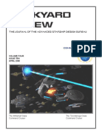 Dockyard Review,The Journal of the Advanced Starship Desing Bureau,Volume 4, Issue 10-April 2380