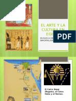 El Arte y La Cultura en Egipto