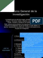 Panorama General de La Investigacion