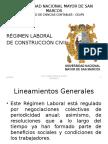 Régimen Laboral de Construcción Civil 2013-2014