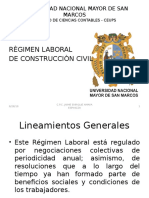 Régimen Laboral de Construcción Civil 2013-2014