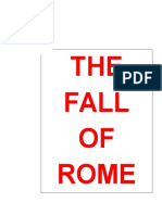The Fall of Ancient Rome Notes Template Answers
