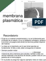 Membrana y Tranporte