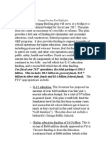 Gov. Rauner proposed Stopgap