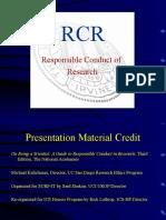 RCR Presentation Revised