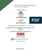 astudyonrecruitmentandselectionprocessof-111224000730-phpapp02