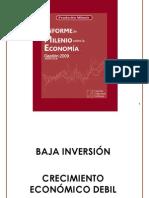 Informe de Milenio sobre la Economía. Gestión 2009