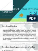 Introduction of Investment Casting