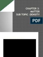 Chapter 3 density form 1
