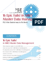 End User - Fails in Data Management