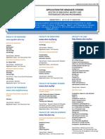 Senarai Program Ditawarkan Semester II Sesi 2012 2013
