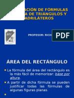 JUSTIFICACIÓN DE FÓRMULAS DEL ÁREA
