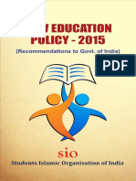 New Education Policy of India