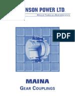 Johnson Power - Maina Gear Coupling Catalog