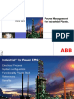 Power Management for Industrial Plants