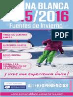 Semana Blanca Fuentes de Invierno 2015 2016