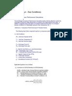 Centrifugal Compressor Performance Calculations