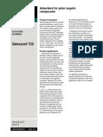 Selexsorb CD Data Sheet