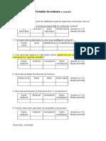 Formular de Evaluare a Cursului