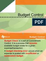 Budgetchecking Trg 30Oct