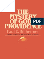 The Mystery of God's Providence - Paul E Billheimer
