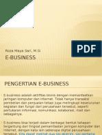 E-bisnis 1