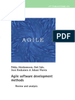 VTT Publications Agile Software Development Methods, Review and Analysis (2002)