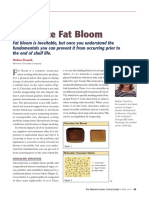 Chocolate Fat Bloom Article