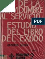 Auzou Georges - De La Servidumbre Al Servicio - Estudio Del Libro Del Exodo.pdf