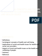 Sociological Context of Health and Social Care