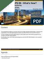 SAP HANA SPS 09 - Administration _ Monitoring